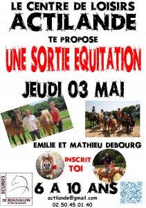 affiche équitation jeudi 03 mai