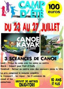 affiche canoë kayak 2018 N°2