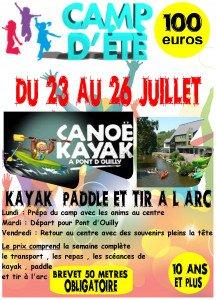 affiche canoë kayak 2019