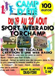affiche sport web-radio torchamp 2019